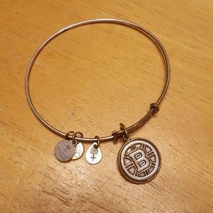 Alex and ani boston bruins bangle bracelet